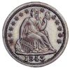 Seated Liberty Dime 1837-1891