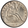 Seated Liberty Half Dollar 1839-1891